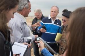 סיור עיתונאים זרים4