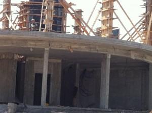 בניית מפעל דיוקים יולי 2015- 2