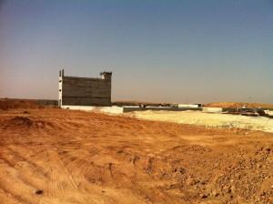 הקמת מפעל מוסא עבודות חקלאות יולי 2015