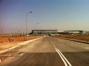 מבט על בניית המרלוג בסודהטרים יולי 2015