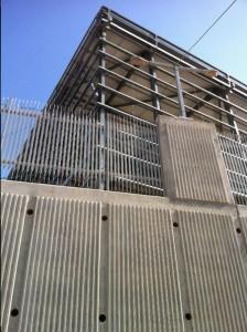 גג מבנה המרלוג סודהסטרים יולי 2015
