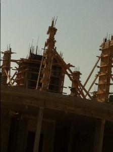 בניית מפעל דיוקים יולי 2015