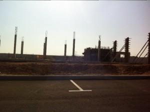 בניית מפעל קרגל יולי 2015- 2