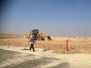 09.09.2015- התחלת עבודות גשר טל- 2