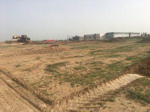 עבודות עפר לבניית בית עידן הנגב 08.03.2018